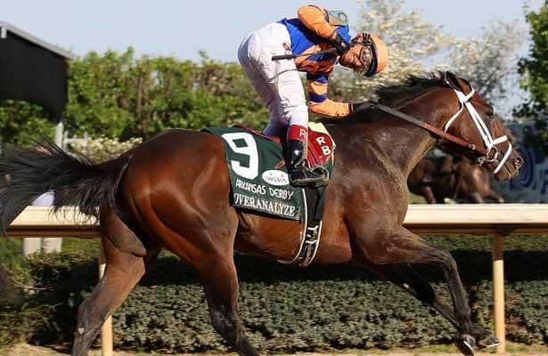 Kentucky Derby 2013 contender Overanalyze